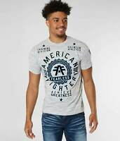 American Fighter by Affliction Short Sleeve T-Shirt Mens ALEXANDER White Black