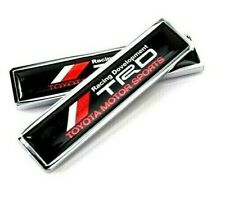 Trd Toyota Car Side Emblem Badge sticker Chrome Decal Accessories