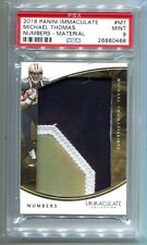2016 Panini Immaculate Numbers Michael Thomas Patch RC 42/50 PSA 9 (CBF)