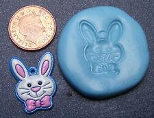 Reusable Rabbit Face Silicone Mould Food Safe Sugarcraft Jewellery Cake Tumdee 1