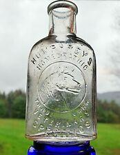 Antique Humphreys Homeopathic Veterinary Specifics Medicine Bottle Victorian Era
