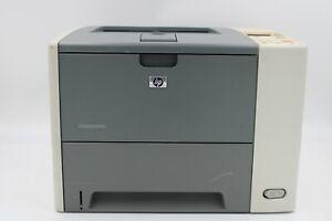 HP LaserJet P3005n Workgroup Monochrome Laser Printer Q7814A W/ Toner TESTED