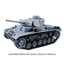 Henglong 1/16 3848 German Panther III L Static Tank Model W/O RC System battery