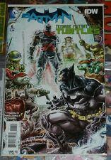 Batman teenage mutant ninja turtles #6