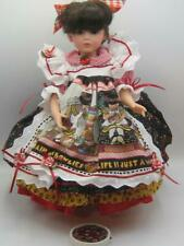 """Chris Miller dress outfit """"Life is Just a Chair of Bowlies"""" 14 """" dolls 2/50 MIB"""