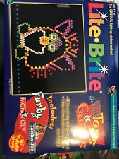 Lite Brite Picture Pages - New/Open - Hasbro Favs - Furby Toy Story Monopoly