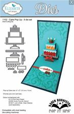 Elizabeth Crafts Designs Cutting Die Set ~ CAKE POP UP ~ 3D Card Making  ~1102