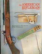1972 American Rifleman Magazine: Remington's Bolt-Action Rifle with a Hammer