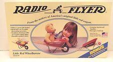 RADIO FLYER WHEELBARROW #4 BONUS MINI NEW