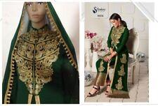 Pakistaní Shalwar Kameez Diseñador Trajes Sharara Plazzo de Boda Vestido