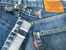 *HOT VINTAGE LVC 140 yrs Men LEVI'S 702XX BIG E REDLINE Jeans 36x36 (Fit 33 x32)