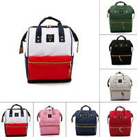 Women Men Unsex Backpack Travel Laptop Shoulder School Handbag Rucksack Satchel