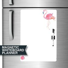 Dry Erase Magnetic Fridge Whiteboard Planner. Flamingo A3 (DE3016)