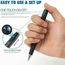 1080p FULL HD Spy Pen Cam Nanny Video Hidden Recorder Camera H17 2.5H Black