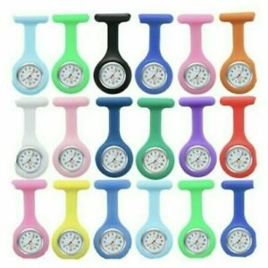 Silicone Nurse Watch Brooch Tunic Fob Watch With Doctor Medical