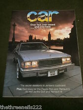 CAR MAGAZINE - THE YANKS ARE COMING - MAY 1977