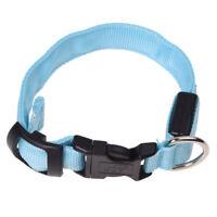 LED Halsband Light - LED Leuchtschlauch Leuchthalsband Hundehalsband Hund Bla SX