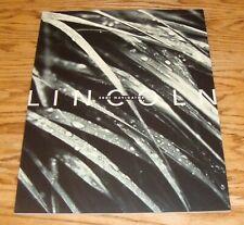Original 2001 Lincoln Navigator Deluxe Sales Brochure 01