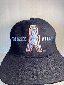 Vintage Tennessee Oilers Football Hat NFL Pro Line Sports Specialties