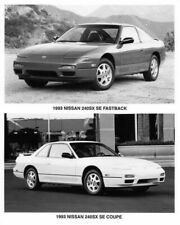 1993 Nissan 240SX SE Fastback and Coupe Press Photo 0031