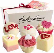 BRUBAKER Boules de bain Wild at Heart 6 Pièces Cadeau Amour Mariage St. Valentin