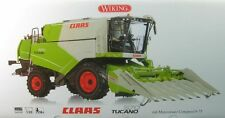 Wiking 077818 Claas TUCANO 570 With Maize Header Conspeed 8-75 1 32