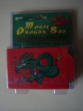 MAGIC DRAGON BOX TRICK CLOSE UP STREET ILLUSION DRAWER VANISH REAPPEAR & CHANGE