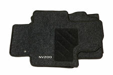 Nissan NV200 Genuine Car Floor Mat Velour Tailored Front & 2nd Row Set x 3
