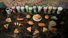 Littlest Pet Shop LPS ❤ 8 Custom Accessories ❤ Starbucks Food Cupcakes Donuts