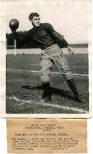 9-25-1923 Charles O'Hearn Forward Pass Yale Type 1 Original photo a_173