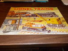 1956 Lionel Model Train 40-page Sales Catalog