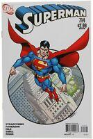 Superman 714 George Perez Variant VF/NM 9.0 DC Comics 2011 JMS Straczynski Igle