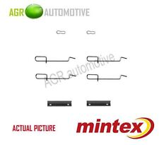MINTEX REAR BRAKE PADS ACCESORY KIT SHIMS GENUINE OE QUALITY - MBA1125