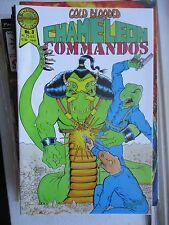 Cold-Blooded Chameleon Commandos #3 FN Blackthorne