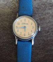 Vintage wind-up U.S. Time  Alice in Wonderland Character Watch for Repair