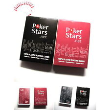 High Quality 100% PLASTIC New Poker Size Playing Cards 1Pcs Excellent