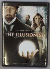 The Illusionist (DVD, 2007, Widescreen) Edward Norton Paul Giamatti Jessica Biel