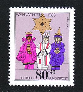 Germany 1983 Mi 1196 Sc B615 MNH Christmas,three kings **
