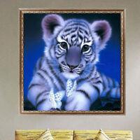 EG_ 5D DIY Crafts Diamond Painting Art Room Cute Tiger Room Wall Decoration Nove
