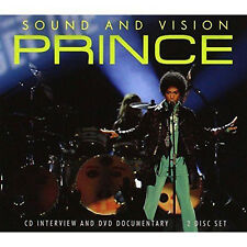 PRINCE CD +  DVD Box set Sound And Vision Interviews + DVD SEALED