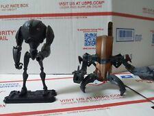 "Star Wars Clone Wars Super Battle droid & Destroyer Droid 3.75"" figure 2008"