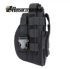 Nylon Tactical Molle Gun Pistol Holster with Extra Mag Pouch for 1911 45 92 96