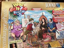 Ravensburger WHAT IF? No 7 Leonardo Didn't Paint Mona Lisa  1000pc Jigsaw Puzzle