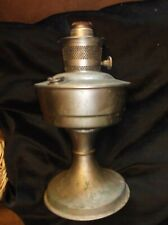 VINTAGE ALADDIN 21 OIL LAMP BASE ONLY WITH WICK & TURNKEY NO CHIMNEY OR SHADE