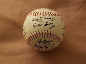 Vintage 1984 San Diego Padres Team Facsimile Signed Autograph Baseball Ball