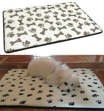New Large Memory Foam Dog Mattress Pad Bed Warm Cushion Pet Cat Crate Mat