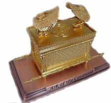 """The Ark Of The Covenant Gold Plated Medium - size 3.75"""" X 2.35"""" X 2.50"""", New, Fr"""