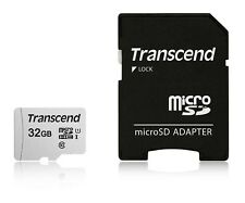 32GB Transcend 300S microSDHC UHS-I CL10 Memory Card with SD Adapter 95MB/sec