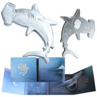 2020 Great Hammerhead Shark Silver 1oz Solomon Islands $2 Coin