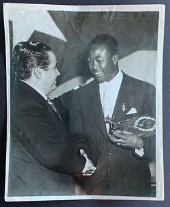 Kid Gavilan World Welterweight Champion Cuban Press Photo Vintage Boxing Picture